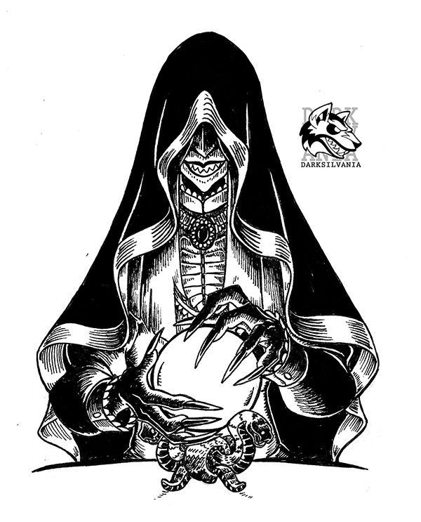 Drawlloween 19- Witchcraft Wednesday by Darksilvania.deviantart.com on @DeviantArt
