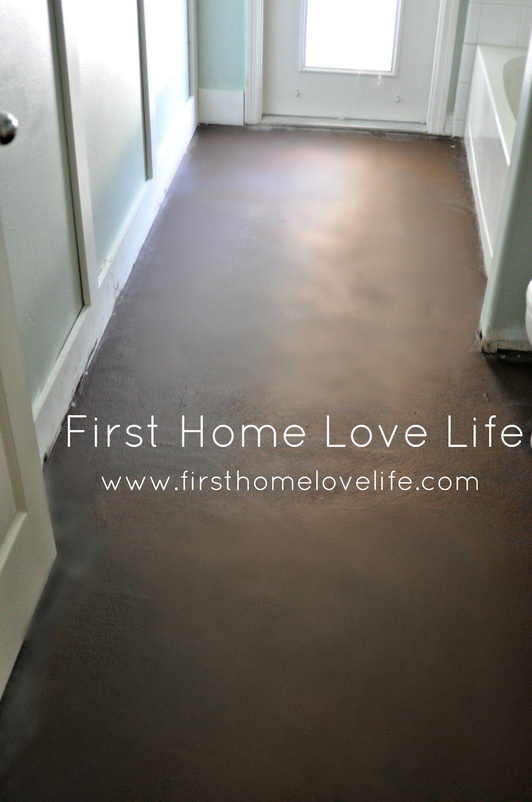 Concrete Floors Don T Cry Over Spilt