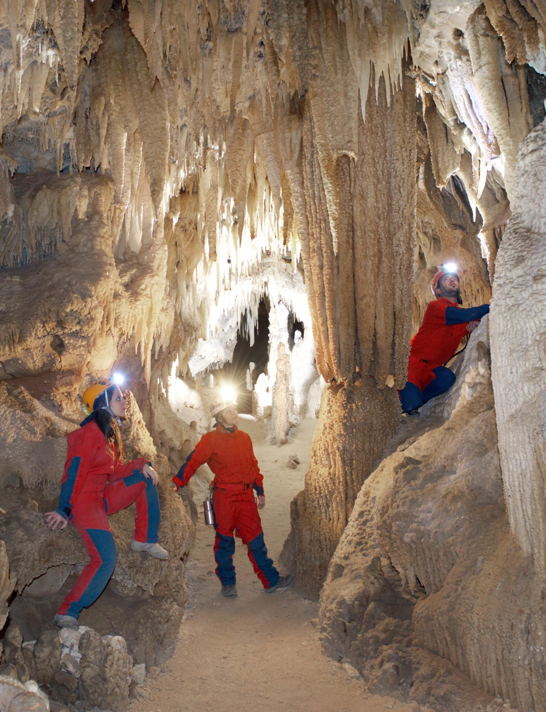 Castellana Caves In Puglia Are Rich In Stalactites And