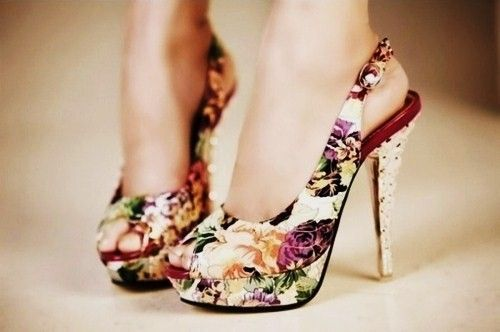 19649f086e5a these are amazing!!! i love floral heels!