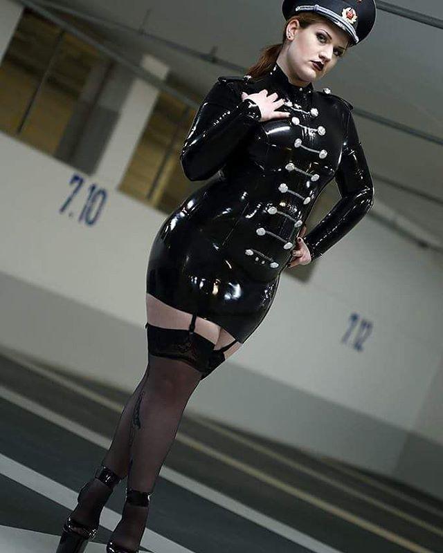 Black fetish stocking