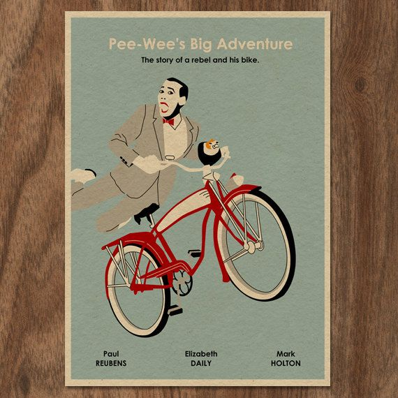 Pee Wee S Big Adventure Limited Edition Movie Print Tour Etsy In 2020 Big Adventure Movie Prints Friday Im In Love A league of their own. pinterest