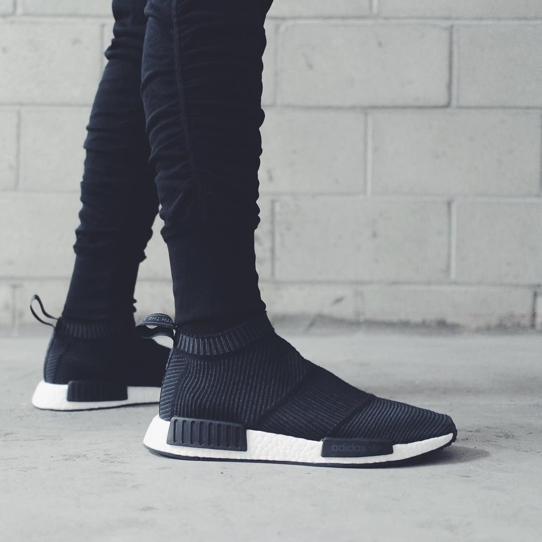 NMD City Sock (via in.neutral) | Sock shoes, Fresh shoes