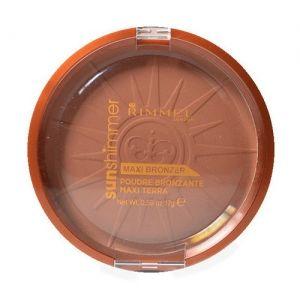 Sun Shimmer Maxi Bronzer Powder by Rimmel London for Women Cosmetic 17g