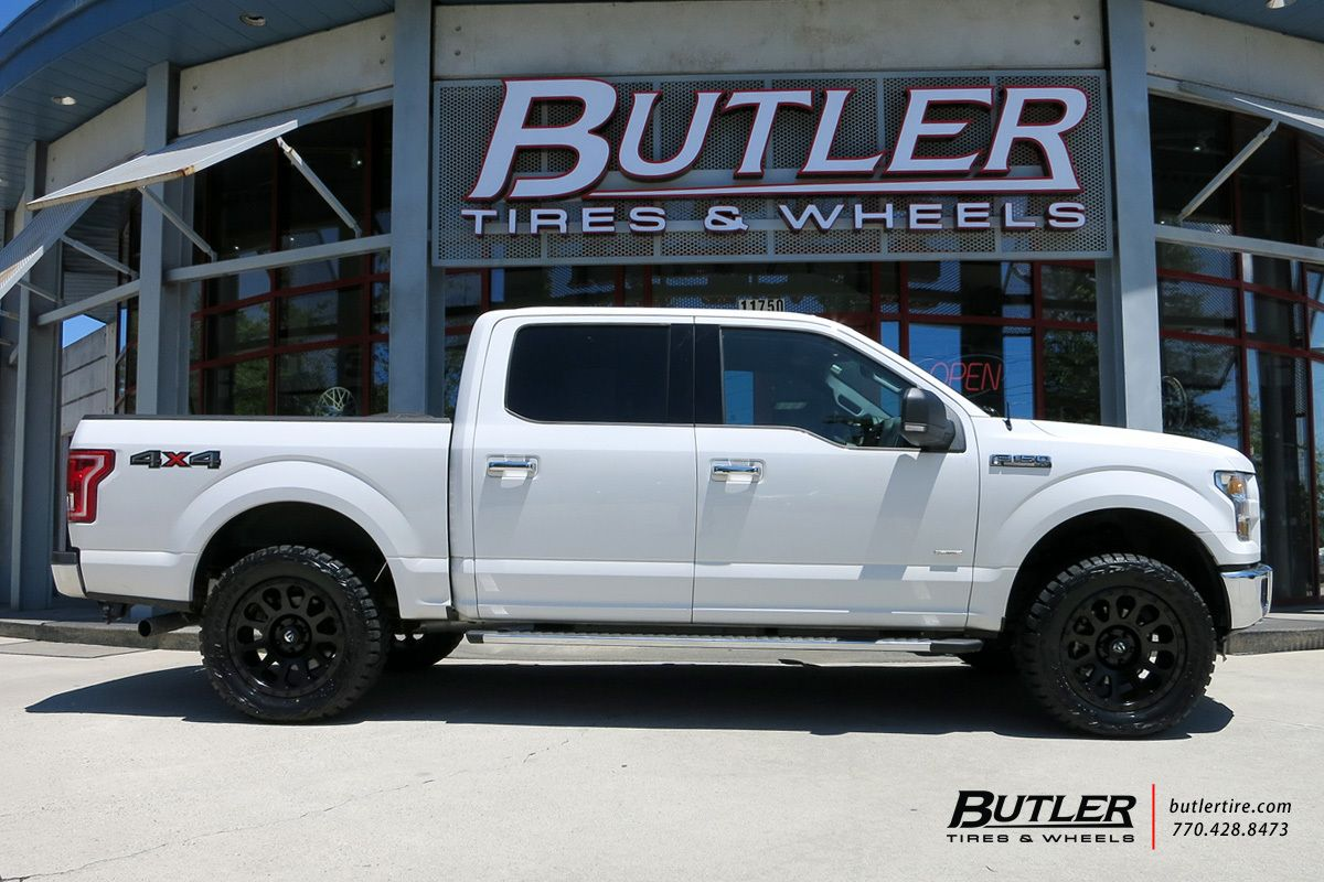Ford F150 With 20In Fuel Vector Wheels  Ford F150 Fx4 -5005