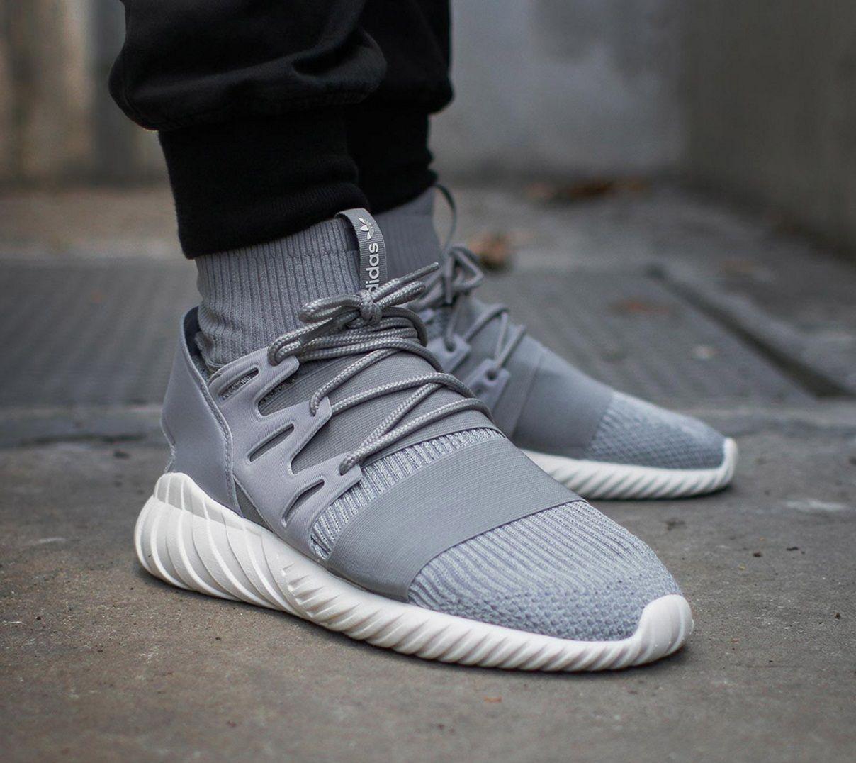 adidas tubular grey