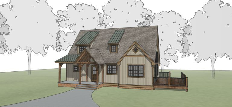 Brightwater Timber Frame Floor Plan By Mill Creek
