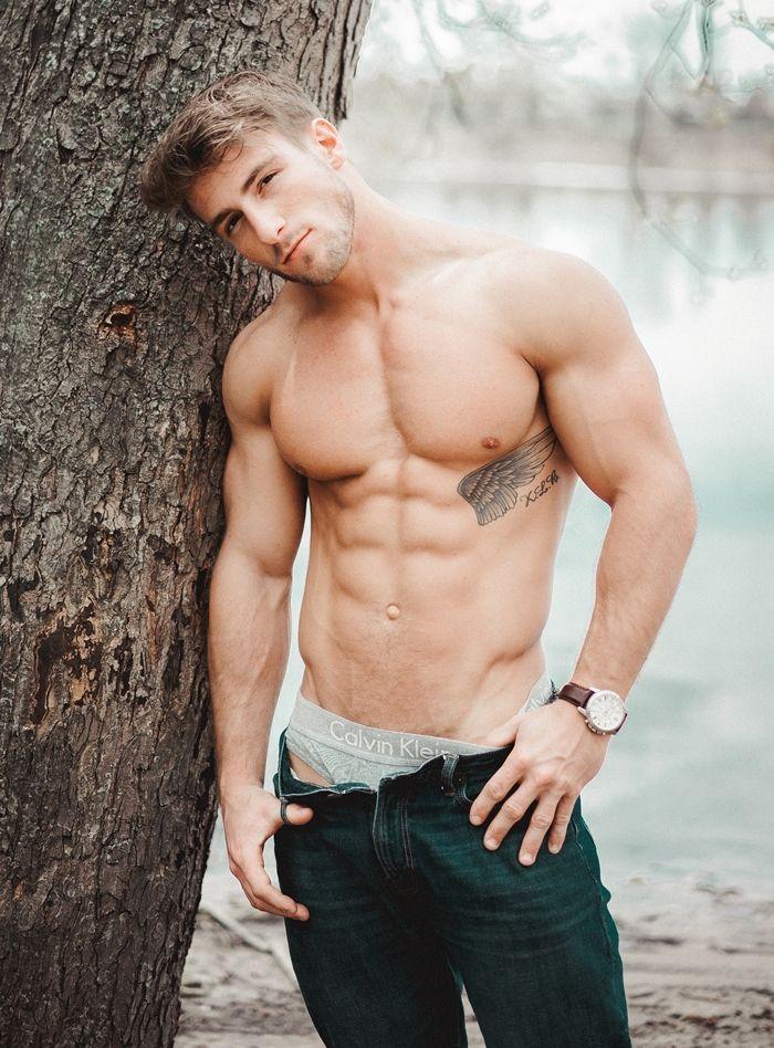 Muscle men in jocks