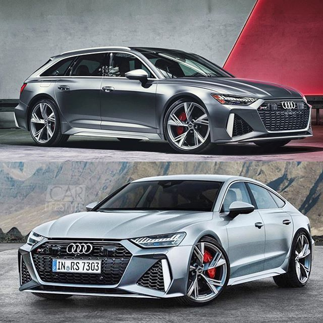 Which One Would You Take New 2020 Rs6 New 2020 Rs7 Render By Carlifestyle 4 0l V8 Biturbo 600hp Audi Carlifestyle Audi Rs6 Audi Audi Rs