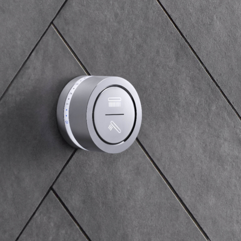 Designed with sleek, minimalist style, the DTV Mode shower