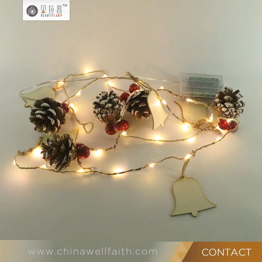 Hanging lights wedding decor  Christmas Party Wedding Decoration Waterproof Garden Hanging  le