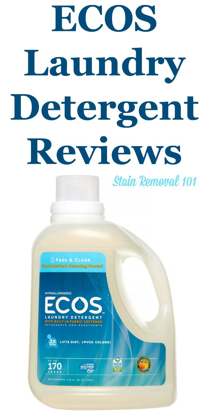 Ecos Laundry Detergent Reviews Ratings And Information Ecos
