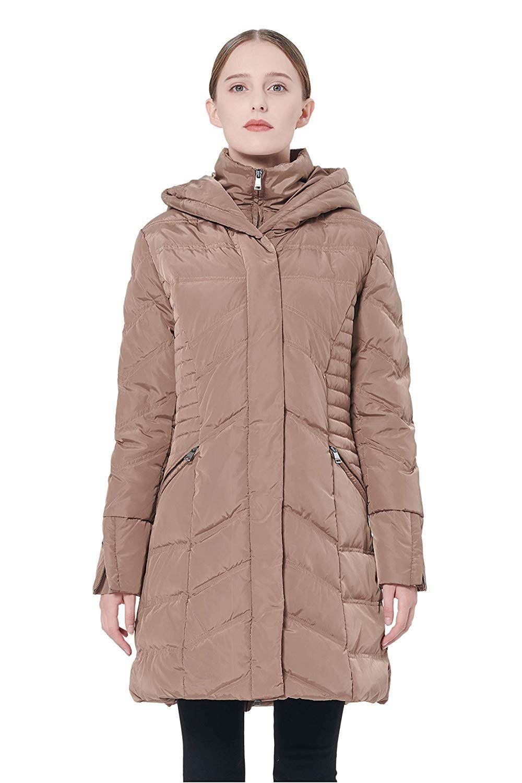 eb6e2c558c4 Orolay Women s Thickened Coat Puffer Down Jacket