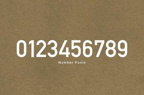 フリーフォント プライス表示などに使えそうな英数字フォント フォント 数字デザイン フリーフォント