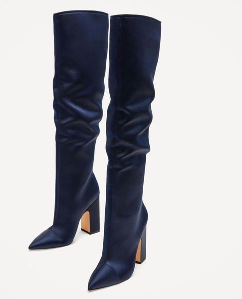 check-out 791c2 09ef4 Scarpe Zara: i nuovi modelli sono super - Marieclaire   Stivali ...
