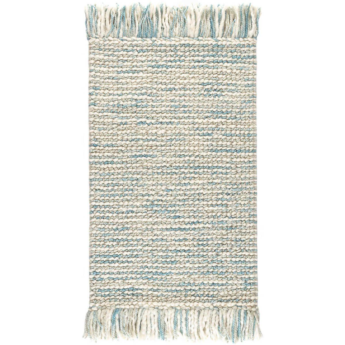 Lanka Sky Woven Wool Rug Dash Albert Dash And Albert Dash And Albert Rugs Blue Area Rugs