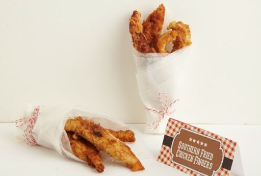Southern Fried Chicken Fingers Recipe on Yummly