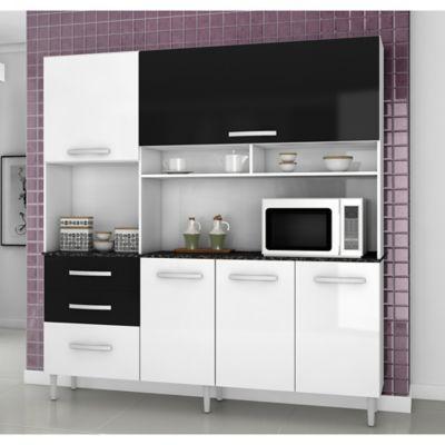 Favatex Kit mueble cocina 182,5x194x40 cm Blanco | Muebles ...