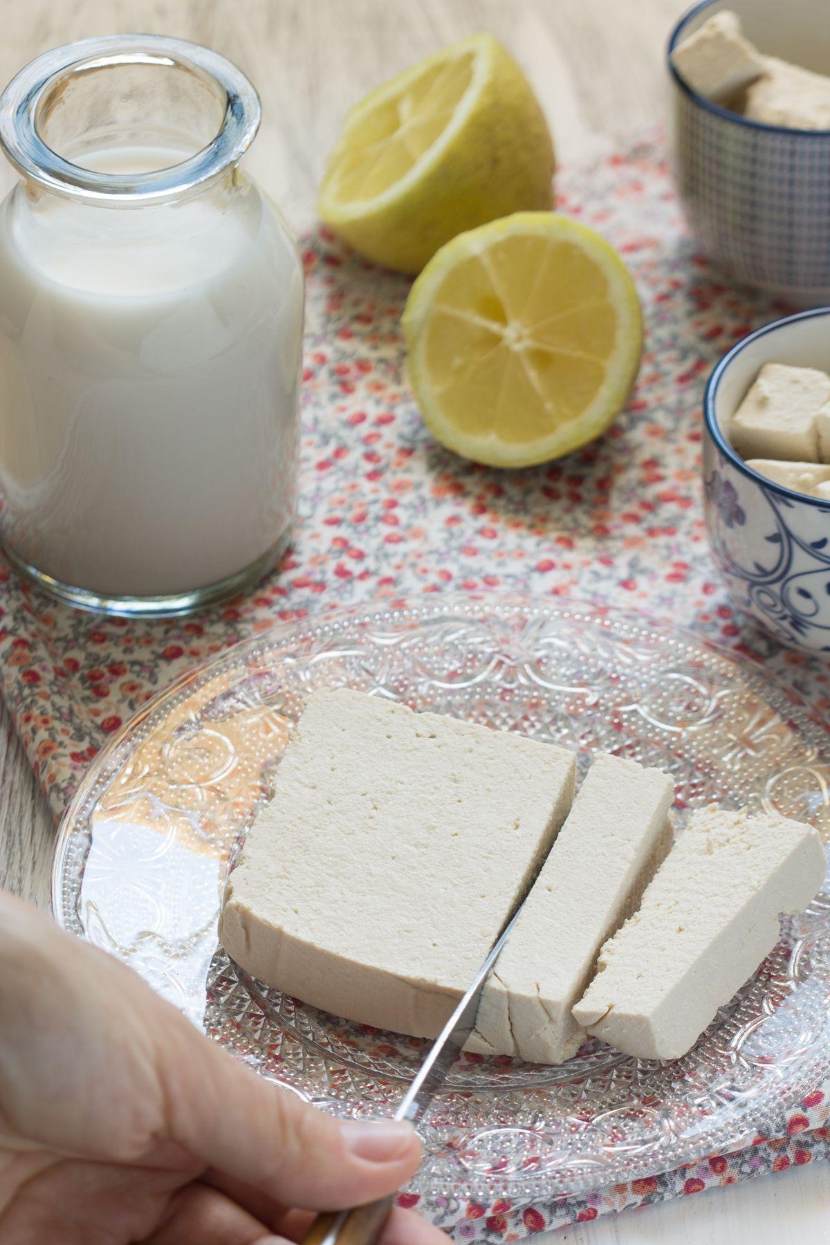 Tofu maison facile (vegan