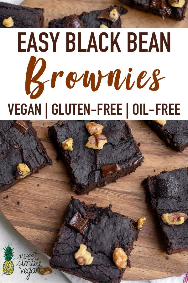 Who would have known that black beans were the secret ingredient to perfectly rich and fudgy brownies