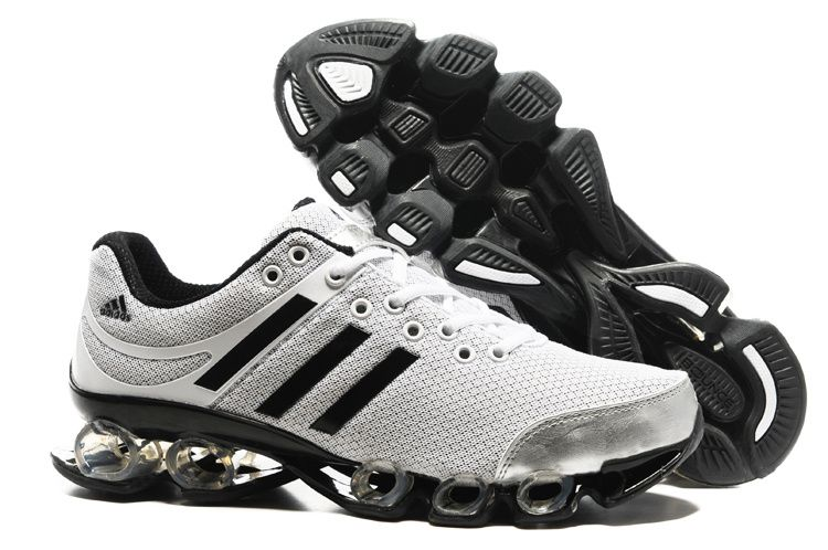 White Black Mens New Colors Adidas Bounce Titan 2012 Running Shoes ... ccc8d76ce