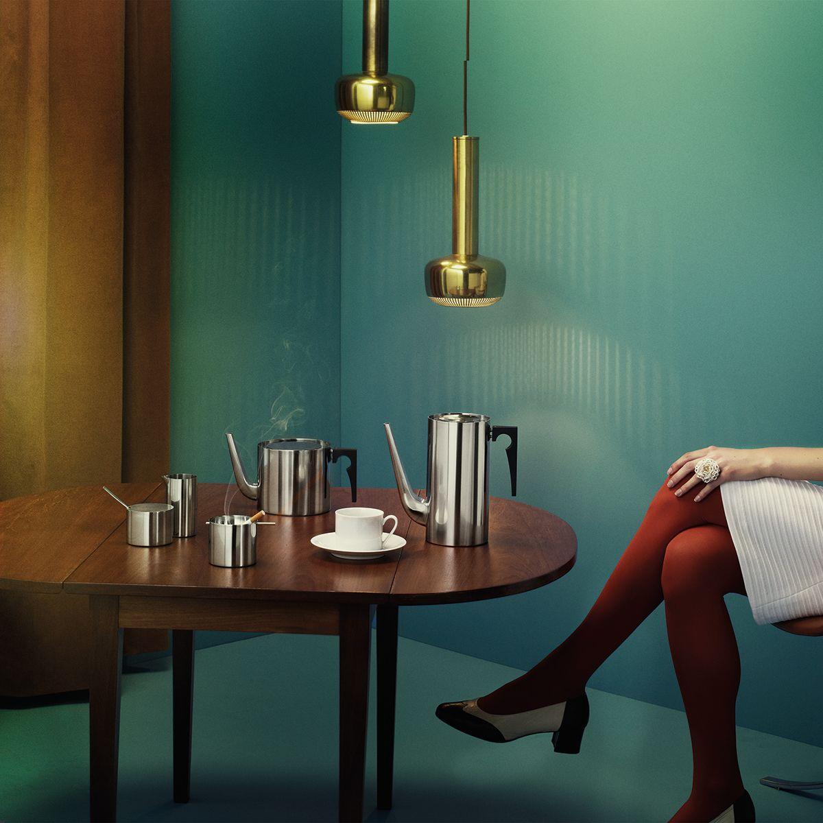 Arne jacobsen interior stelton serie aj artvoll designer arnejacobsen tvoll