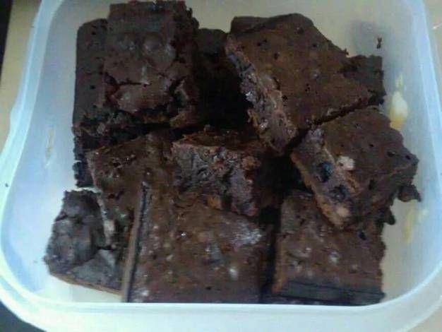 Brownies para diabéticos