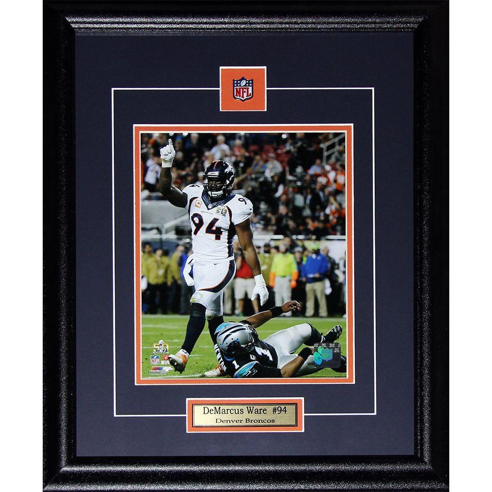Demarcus Ware Denver Broncos 8x10-inch Frame | Demarcus ware, Ware ...