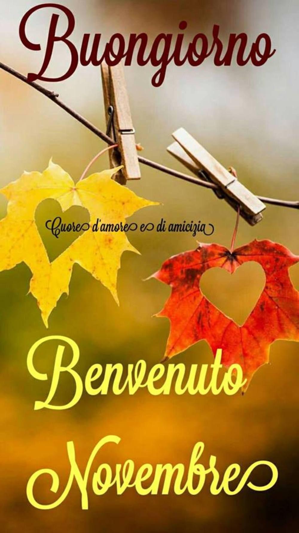 15 Immagini E Frasi Di Novembre Da Scaricare Gratis Buongiornospeciale It Buongiorno Novembre Immagini