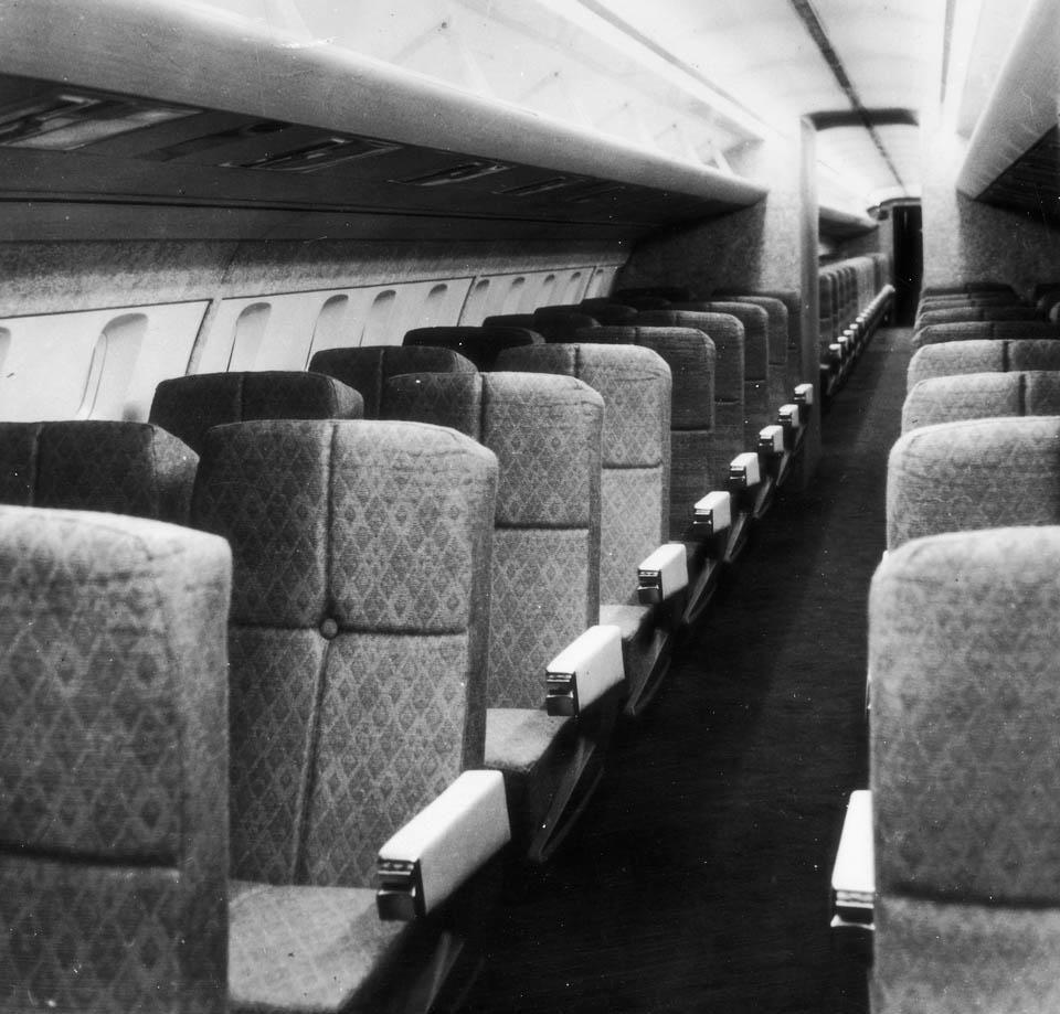 Early Interior Of Concorde.