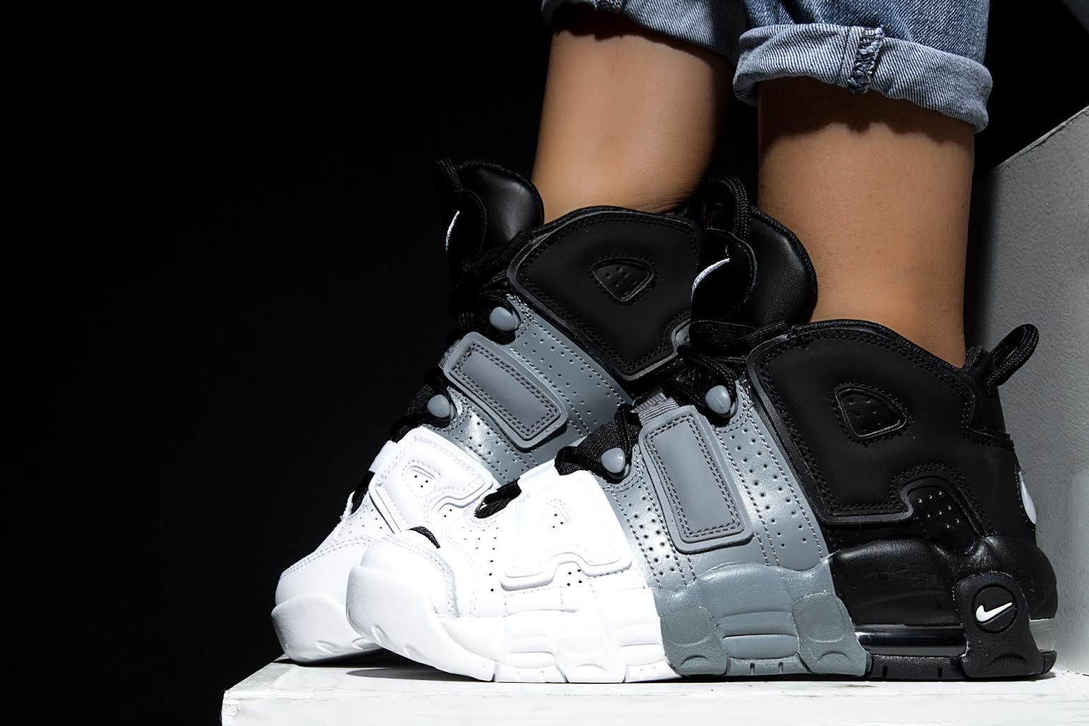distorsionar sustantivo Grifo  Nike Air More Uptempo 96 'Tricolor' | Kid shoes, Black nikes, Nike