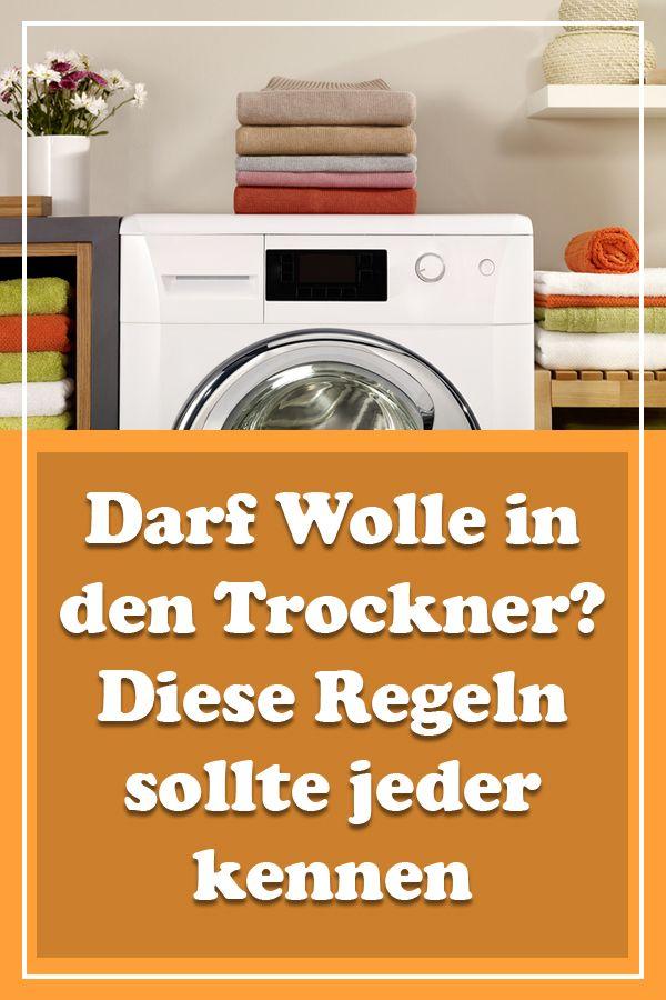 Schurwolle Waschen Waschmaschine