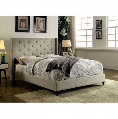 Bulkea.com Furniture of America Anabelle Contemporary Queen Bed ...