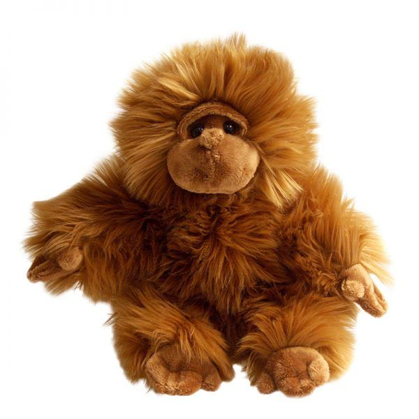 Full Bodied Animals Brown The Puppet Company Sloth Toy