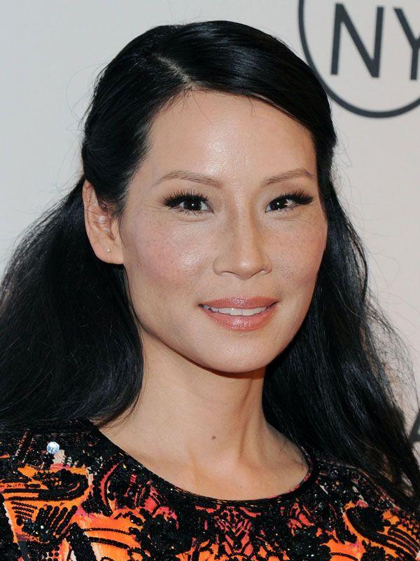 Lucy Liu Has A Pretty Half Up Hair Idea Hair Beauty That I Love