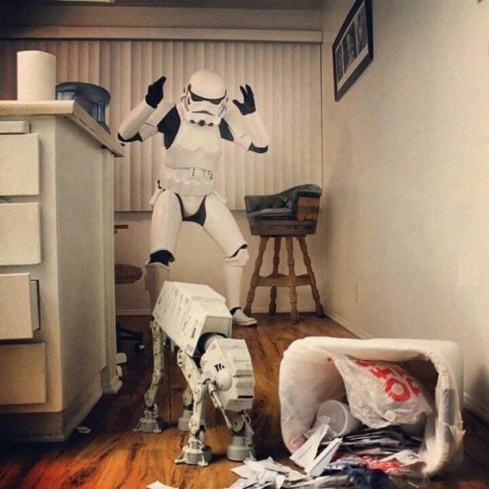 bad at at a little star wars humor cute animals pinterest krieg der sterne picdump und. Black Bedroom Furniture Sets. Home Design Ideas