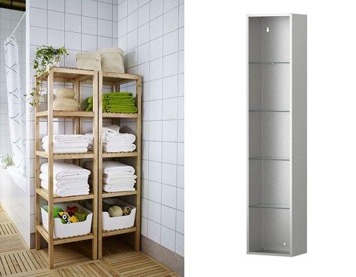 Los muebles de baño más baratos de Ikea: armarios