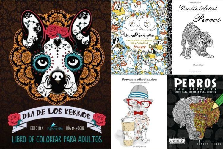 Libros de mandalas de perros para colorear para adultos | Cosas ...
