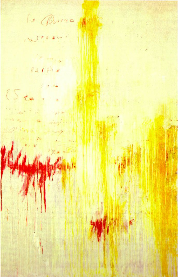 cy twombly paintings | quattro stagioni, part ii estate - cy twombly ...
