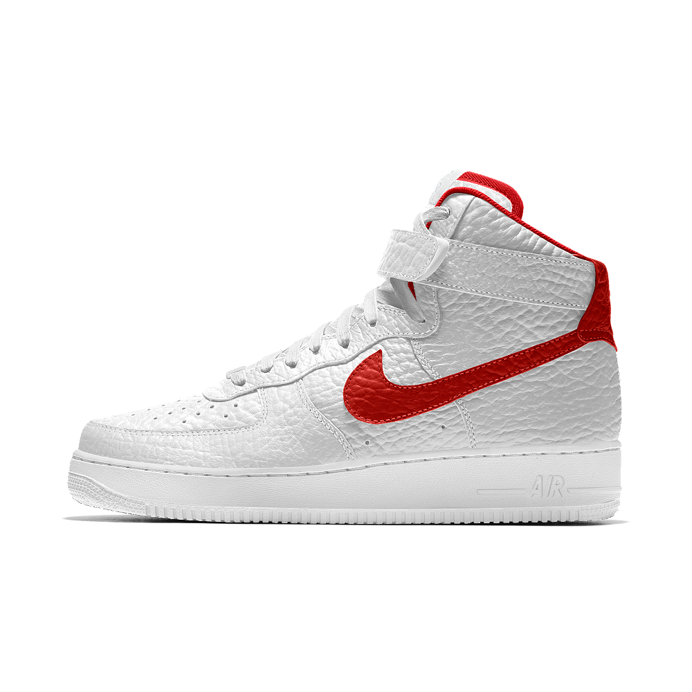 huge selection of 5226a 6431b Nike Air Force 1 High Premium iD (Washington Wizards) Men's Shoe Size 10.5  (White)