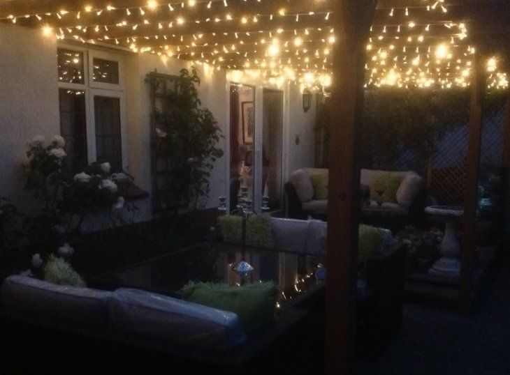 Outdoor Fairy Lighting Stunning pergola evening lighting warm white fairy lights stunning pergola evening lighting fairy lights gallery workwithnaturefo
