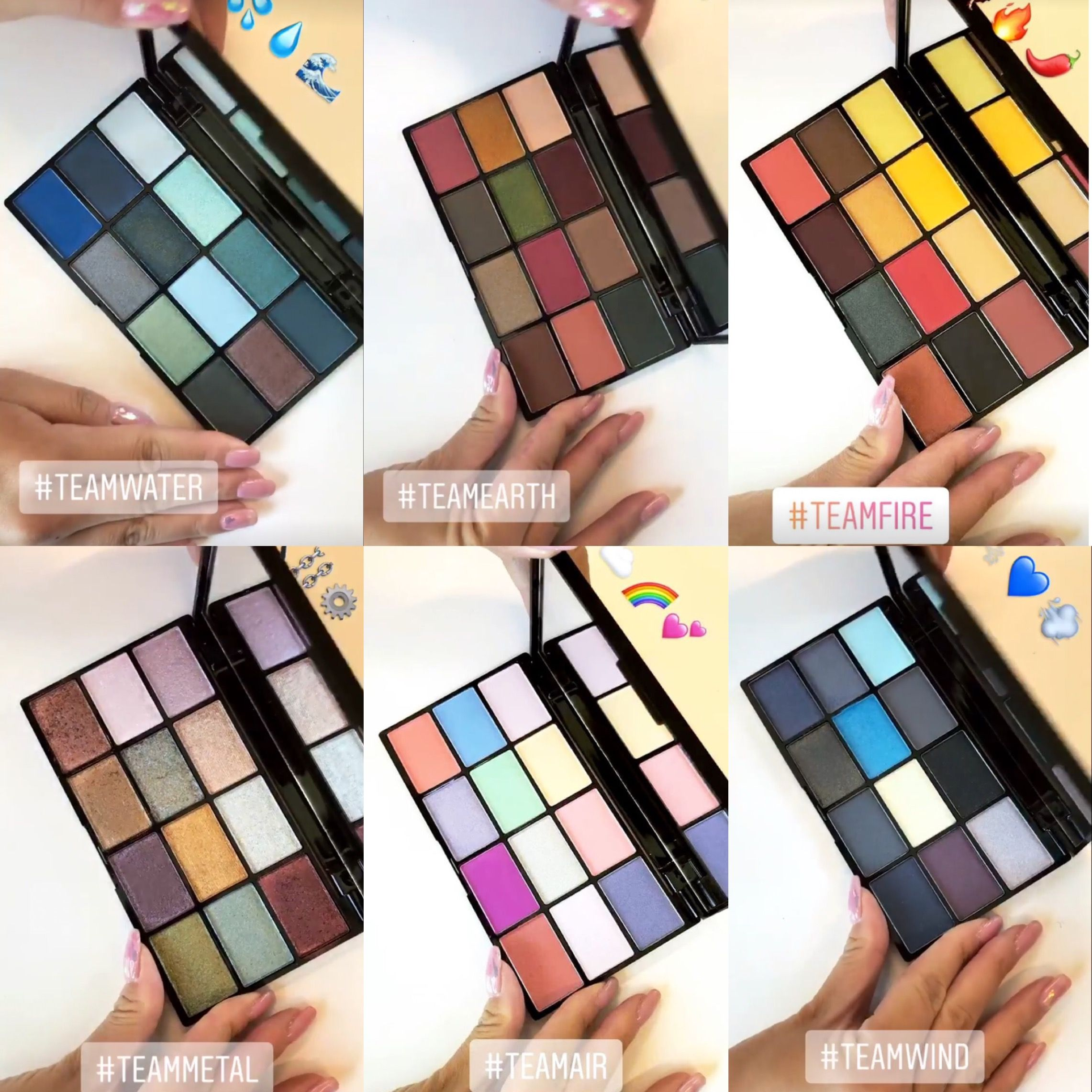 nyx your element eyeshadow palette collection release date. Black Bedroom Furniture Sets. Home Design Ideas