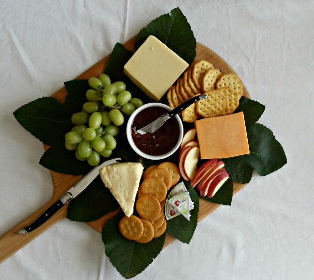Upstairs Downstairs cheese board