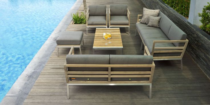 Garden Furniture Vancouver Vancouver outdoor teak sofa great combination of solid teak wood and 3b026f18607d6e448da9b148802ede3eg workwithnaturefo