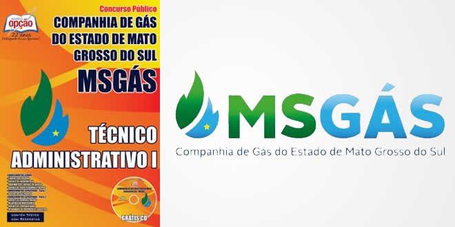 Saiba Mais Apostila MS Gas–Técnico Administrativo I. Promoção!