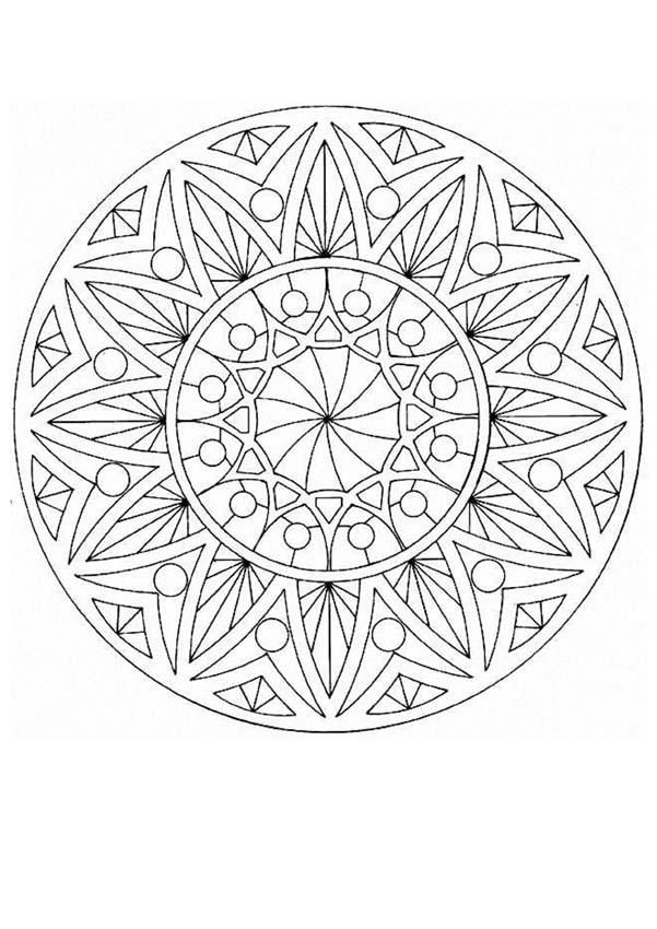 mandala 43 worksheet to color mandala coloring pages mandala coloring mandala. Black Bedroom Furniture Sets. Home Design Ideas