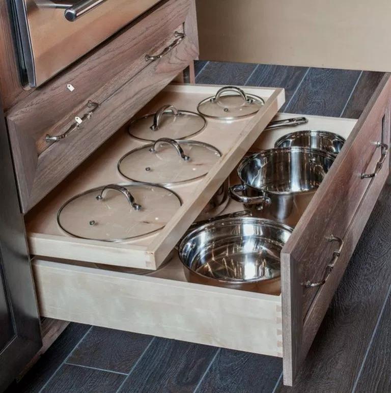 37 Neat Kitchen Organization And Storage Ideas Storagekitchen Kitchendesign Kitchenideas B Diy Kitchen Remodel Kitchen Cabinet Design Diy Kitchen Storage