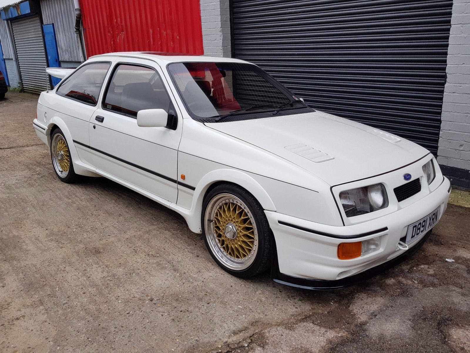 Check Out This Classic Turbo Sold Ford Sierra Rs Cosworth 3dr