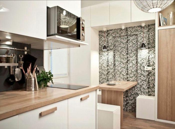 Kleine Küchen stellen ein kompaktes Küchendesign dar | Kleine ...
