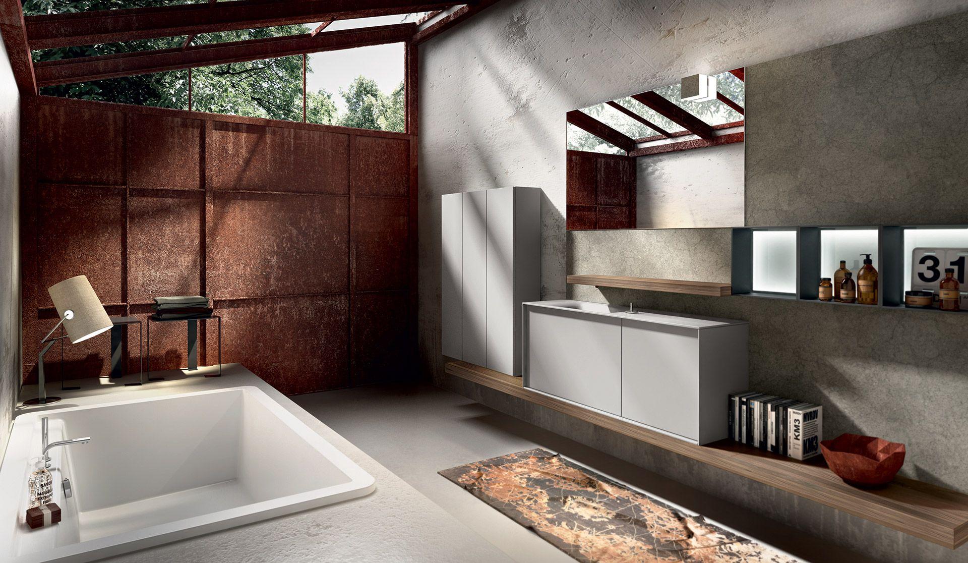 collezione regolo by edoné design - 1 - tagli geometrici per ... - Agorà Arredo Bagno